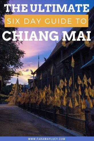 Chiang Mai in Northern Ireland is by far my favourite place I've ever visited. So today I've compiled my ultimate six day guide to Chiang Mai, from volunteering with elephants to ziplining through the rainforest! Click through to read more...