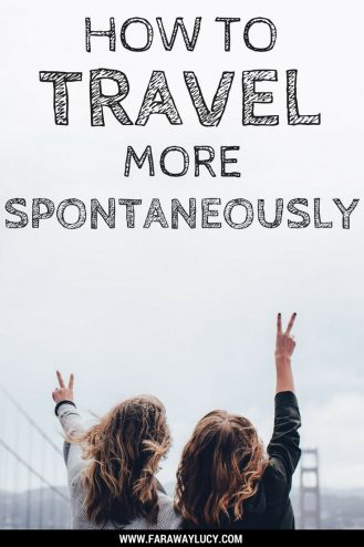 There are many ways you can start to travel more spontaneously! Click through to read more...
