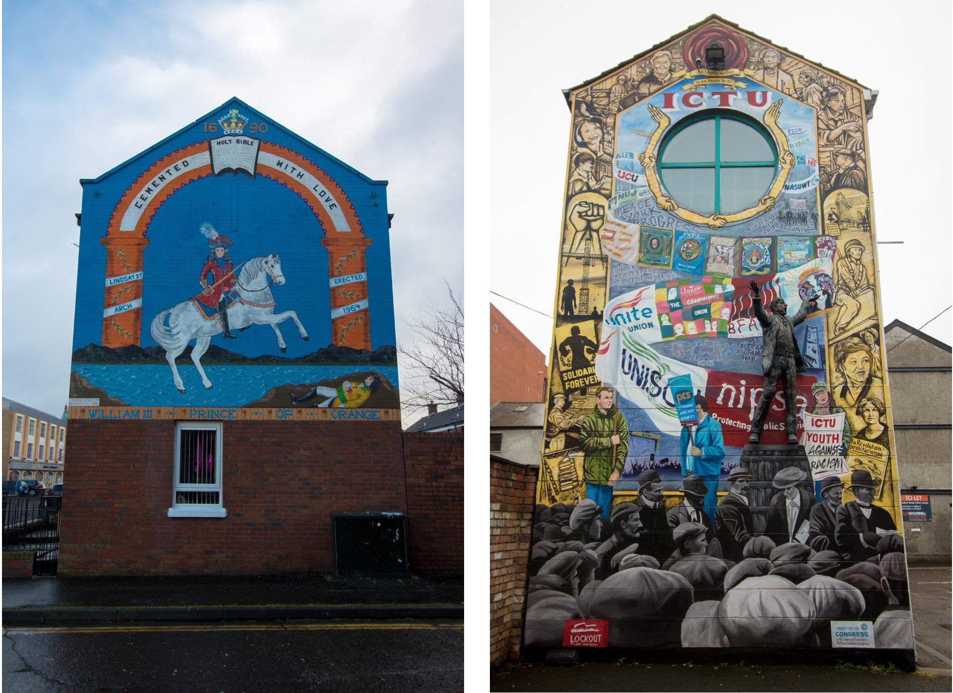 belfast-street-art-political-graffiti-on-buildings