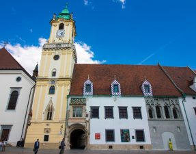 Things to do in Bratislava. How to spend 24 hours in Slovakia's pretty capital, Bratislava, on your interrail travels. The ultimate city guide showing you where to stay, what to see and do, and where to eat and drink! Find out what the best cocktail bar in the city is, the best places to see the city from above and the many churches, palaces and castles you CANNOT miss. Click through to read more...