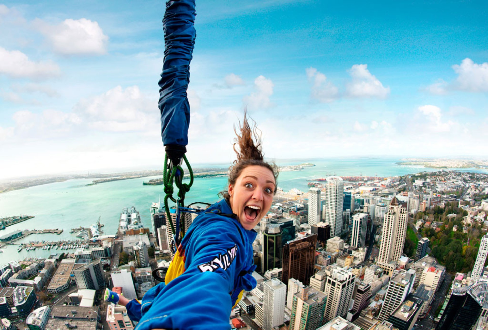 Auckland Sky Jump The Ultimate New Zealand Bucket List Faraway Lucy Travel Blog