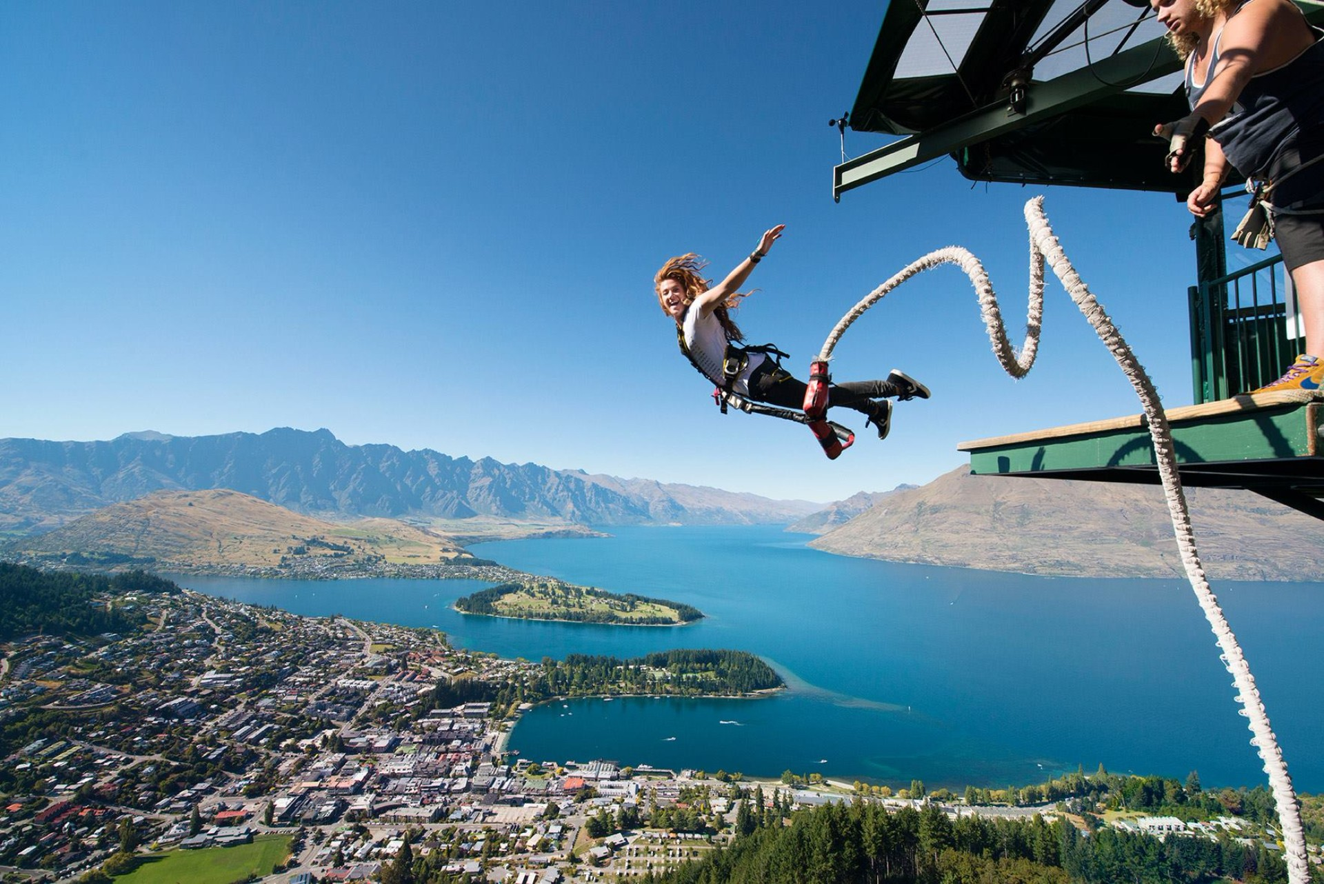 Queenstown AJ Hackett Ledge Bungy Jump The Ultimate New Zealand Bucket List Faraway Lucy Travel Blog