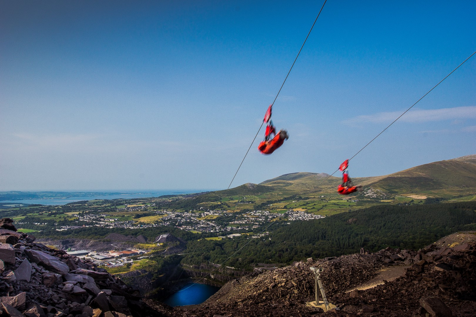 Zip World Velocity. An Adventurous Weekend in North Wales. What to see and do in North Wales in just 48 hours. North Wales weekend guide travel blog. Snowdonia National Park, Zip World, Velocity, Bounce Below, Criccieth, Portmeirion, Caernarfon, Pwlhelli. Click through to read more...