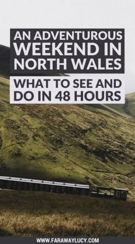 An Adventurous Weekend in North Wales. What to see and do in North Wales in just 48 hours. North Wales weekend guide travel blog. Snowdonia National Park, Zip World, Velocity, Bounce Below, Criccieth, Portmeirion, Caernarfon, Pwlhelli. Click through to read more...