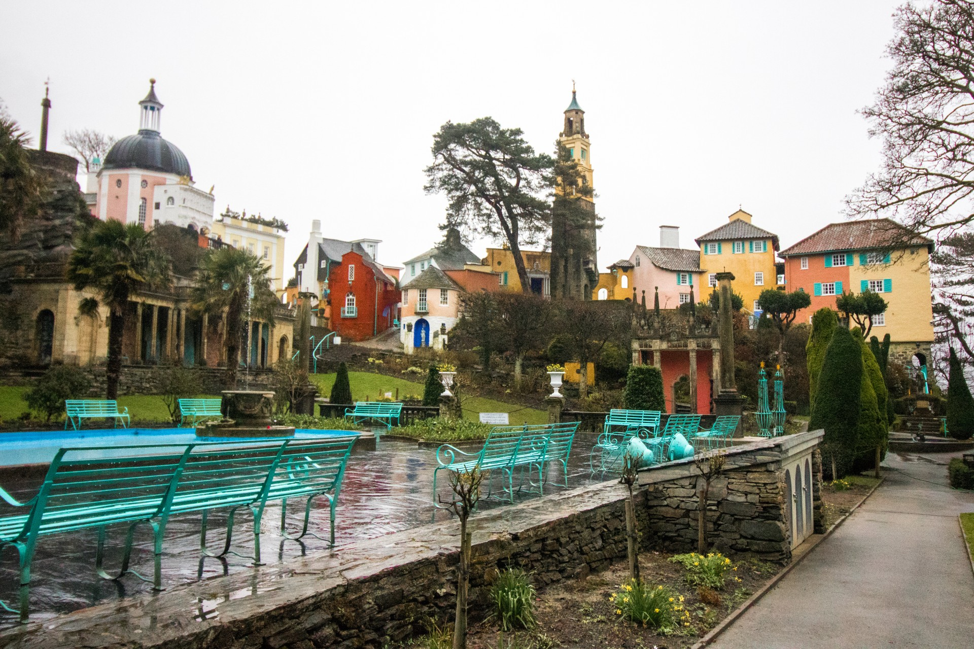Portmeirion. An Adventurous Weekend in North Wales. What to see and do in North Wales in just 48 hours. North Wales weekend guide travel blog. Snowdonia National Park, Zip World, Velocity, Bounce Below, Criccieth, Portmeirion, Caernarfon, Pwlhelli. Click through to read more...
