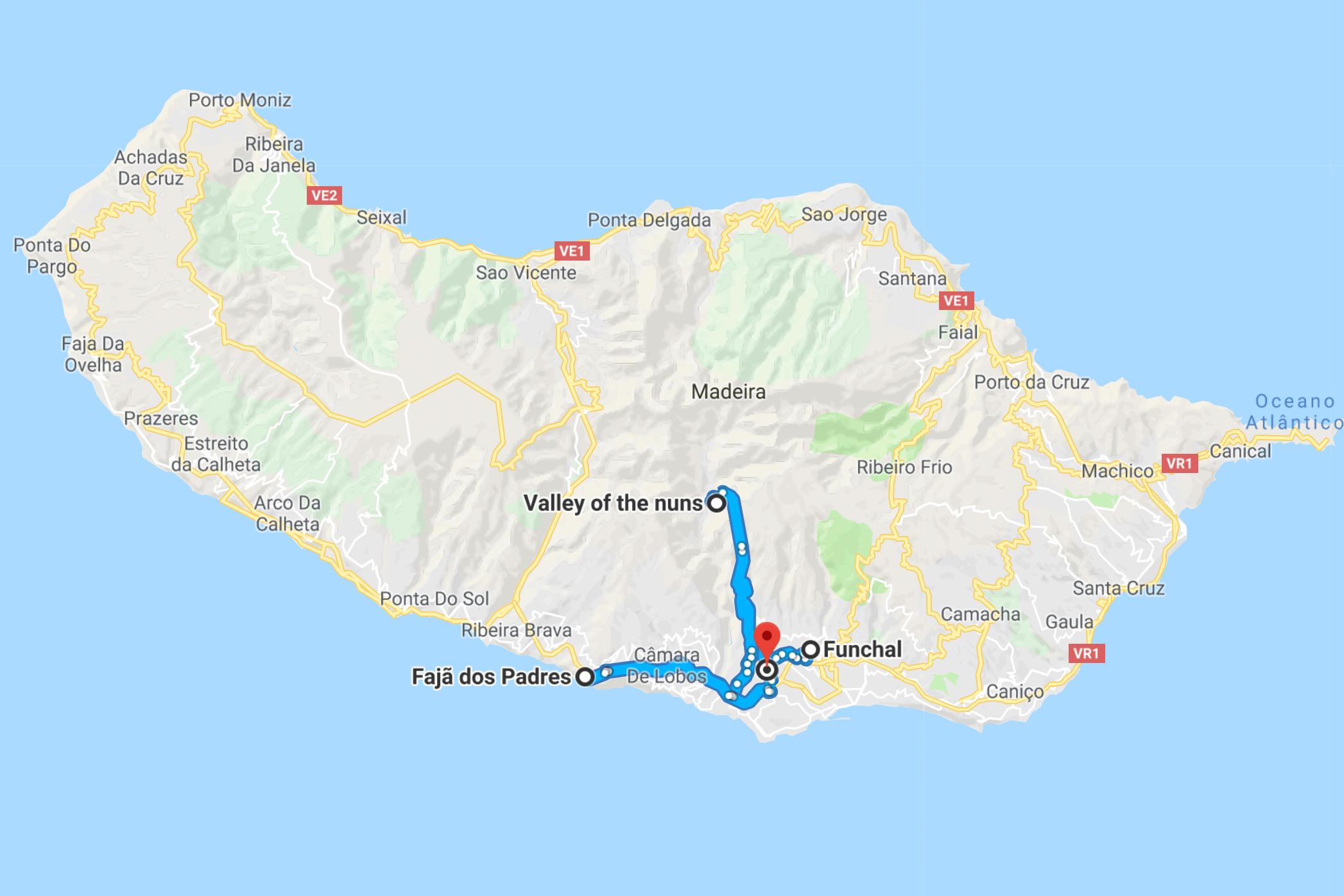 карта-оф-Мадейра-google-карты