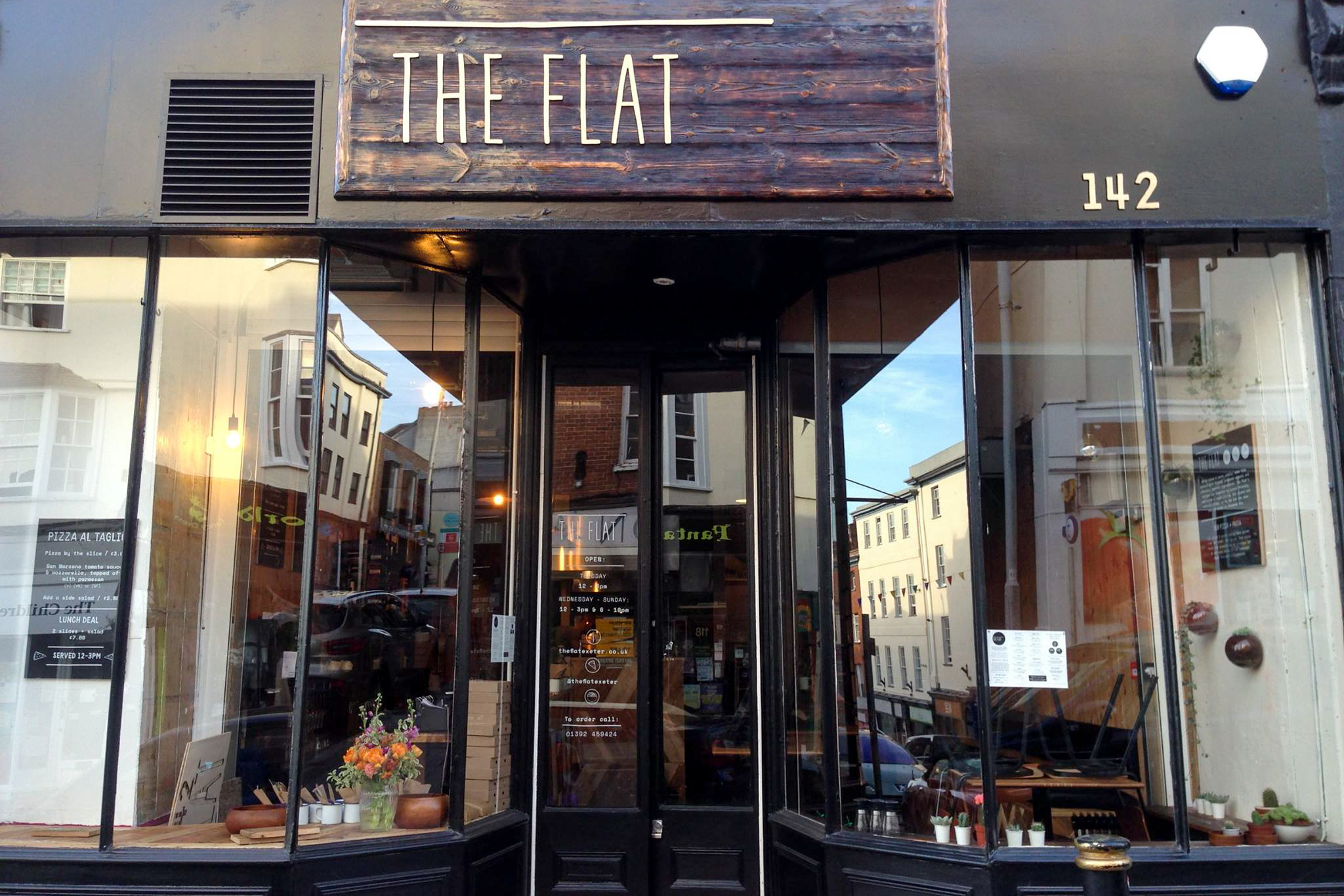The Flat Exeter Restaurants