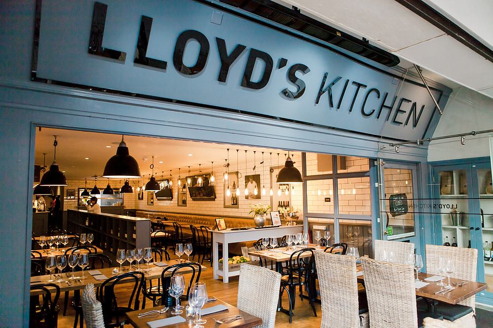 Lloyd's Kitchen Lloyd's Lounge Exeter Restaurants