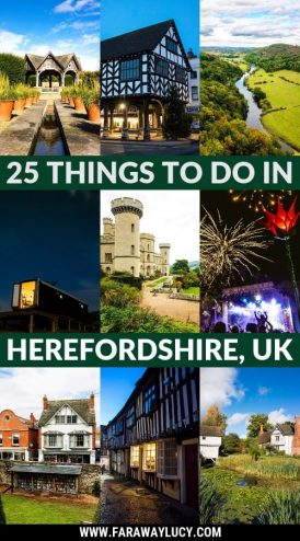 Top 25 Things to Do in Herefordshire, West Midlands, England, UK. Things to do in Hereford. Days out in Herefordshire. Places to Visit in Herefordshire. What to do in Hereford. Things to Do Near Hereford. Herefordshire travel guide. Herefordshire travel blog. Herefordshire tourist information. What's on Herefordshire. Visit Hereford. Visit Herefordshire. Ledbury. Eastnor Castle. Hay-on-Wye. Forest of Dean. Click through to read more...