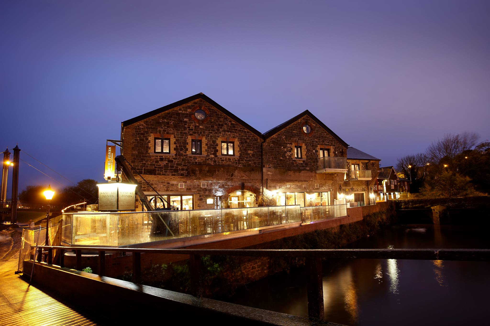 Samuel Jones brick pub on the water Exeter Restaurants
