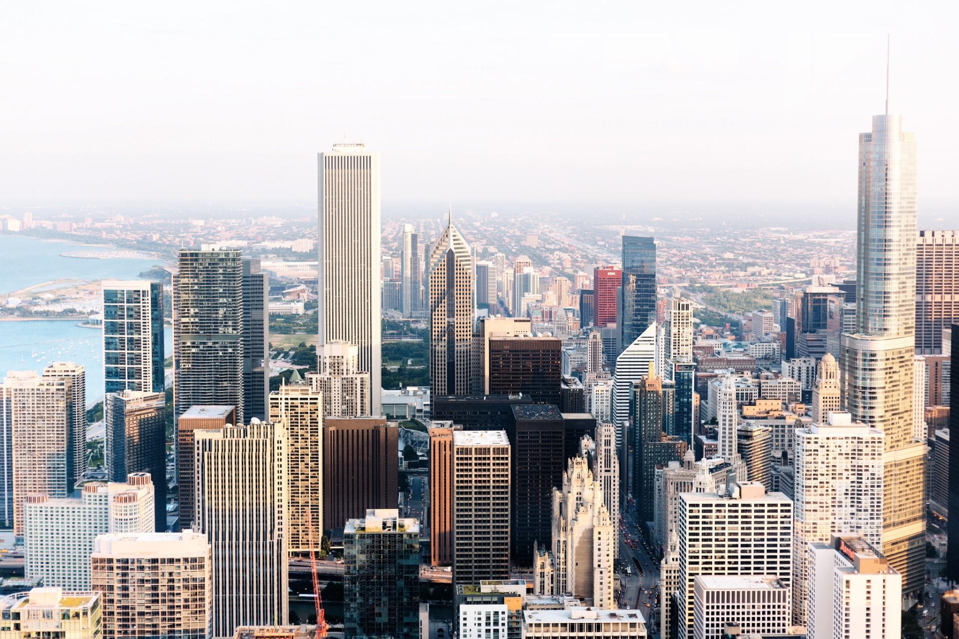 New York City skyscraper skyline buildings urban modern travel goals