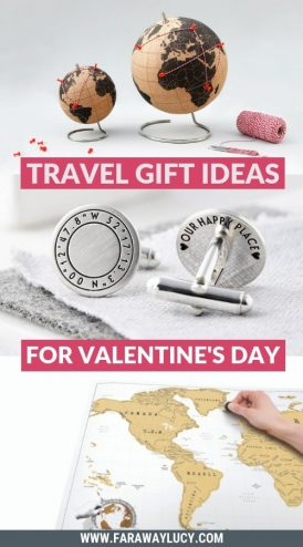 15 Romantic Travel Gift Ideas for Valentine's Day. Valentine's Day presents. Valentine's Day gifts. Valentine's presents. Valentine's gifts. Valentine's present ideas. Valentine's gift ideas. Present ideas for travellers. Present ideas for travel lovers. Gift ideas for travellers. Gift ideas for travel lovers. Presents for travellers. Presents for travel lovers. Gifts for travellers. Gifts for travel lovers. Valentine's Day gifts for him. Valentine's Day gifts for her. Valentine's Day presents for him. Valentine's Day gifts for her. Click through to read more...