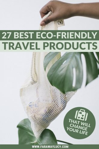 27 Best Eco-Friendly Travel Products That Will Change Your Life. Eco friendly products for sustainable travel. Eco-friendly products. Earth friendly products. Travel accessories. Eco friendly bags. Eco friendly travel bags. Eco friendly gifts. Eco friendly clothing. Eco friendly water bottles. Ethical travel. Responsible travel. Eco friendly holidays. Eco friendly tourism. Eco friendly hotels. Eco friendly vacations. Sustainable tourism. Ecotourism. Sustainable holidays. Eco travel. Click through to read more...