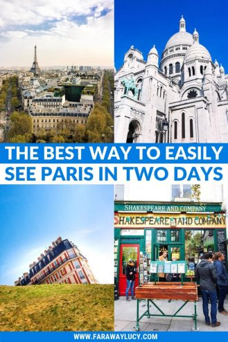 The Best Way to Easily See Paris in Two Days [Itinerary]. Two days in Paris. Weekend in Paris. Paris in a weekend. Paris weekend travel guide. Weekend Paris travel guide. Paris weekend trip. Paris weekend packing. Weekend Paris trip. Paris two day itinerary. Paris travel tips. Paris travel itinerary. Paris travel blog. Paris travel guide. Things to do in Paris. What to do in Paris. Places to See in Paris. Things to see in Paris. What to see in Paris. Paris France. Paris photography. Click through to read more...
