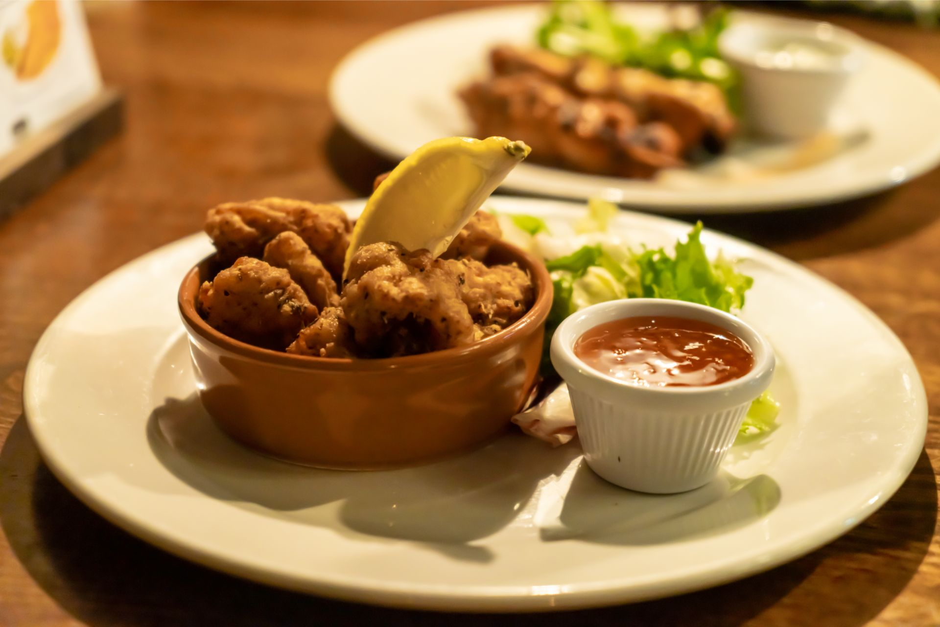 calamari-starter-at-the-beaufort-arms-pub-the-gower-wales