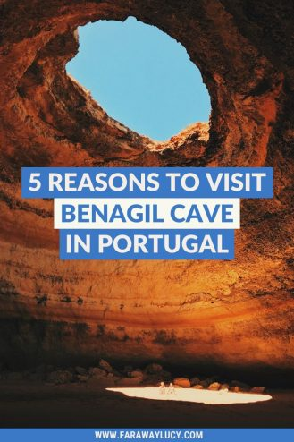 5 Great Reasons Why You Need to Visit Benagil Cave in Portugal. Benagil Cave Portugal. Benagil Cave Algarve. Benagil Cave The Algarve. Benagil cave tour. Benagil cave kayak. Benagil Cave photos. Benagil cave Instagram. Click through to read more...