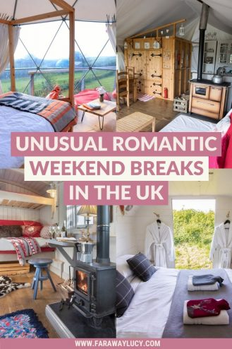 Unusual Romantic Weekend Breaks in the UK