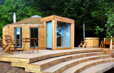 otter-yurt-eco-retreat-at-loch-ken-eco-bothies-galloway-glamping-with-hot-tub-in-scotland