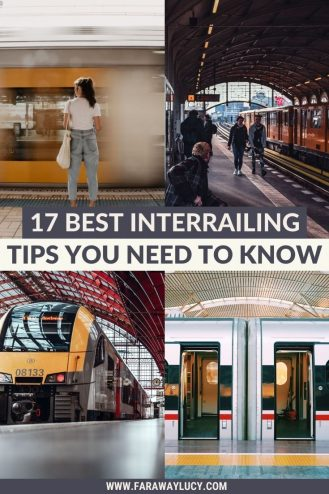 17 Best Interrailing Tips You Need to Know. From what you need to pack and how to stay safe, to the best interrailing Europe routes, here are the must-know interrail tips you need for your trip interrailing around Europe. Click through to read more...