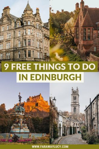 9 Free Things To Do in Edinburgh That You Cannot Miss. From great hikes and viewpoints to museums and galleries, here are the 9 free things to do in Edinburgh that you cannot miss! Click through to read more...