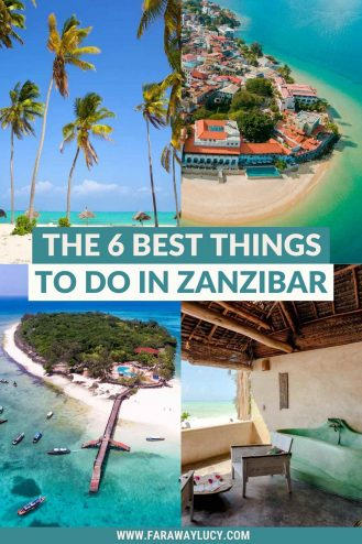 The 6 Best Things to Do in Zanzibar, Tanzania, That You Can't Miss. From the best beaches in Zanzibar to catch the sunset to the boat rides you need to take, there are so many amazing things to do in Zanzibar. Click through to read more...