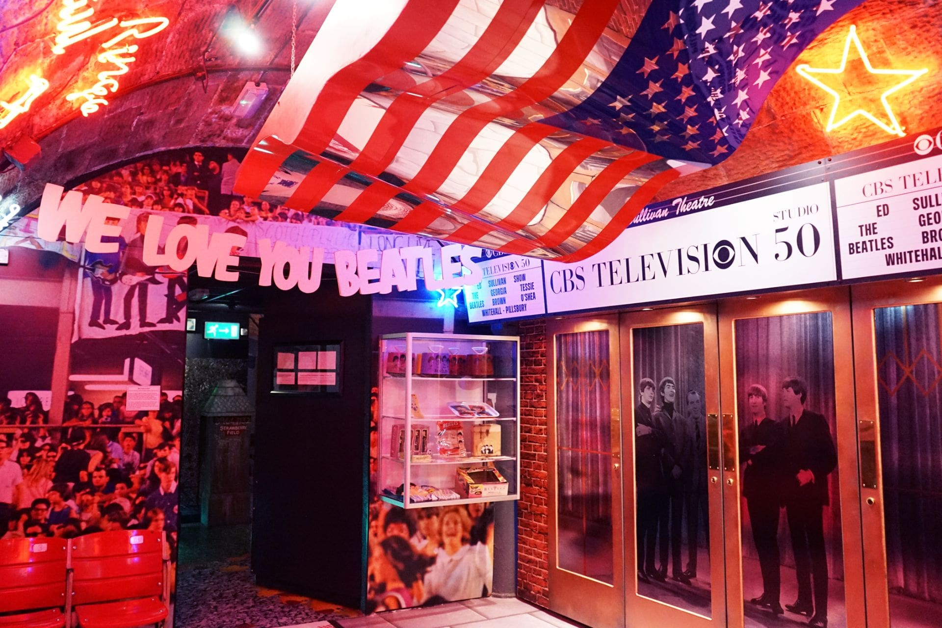 america-room-at-the-beatles-story-museum-weekend-in-liverpool-itinerary