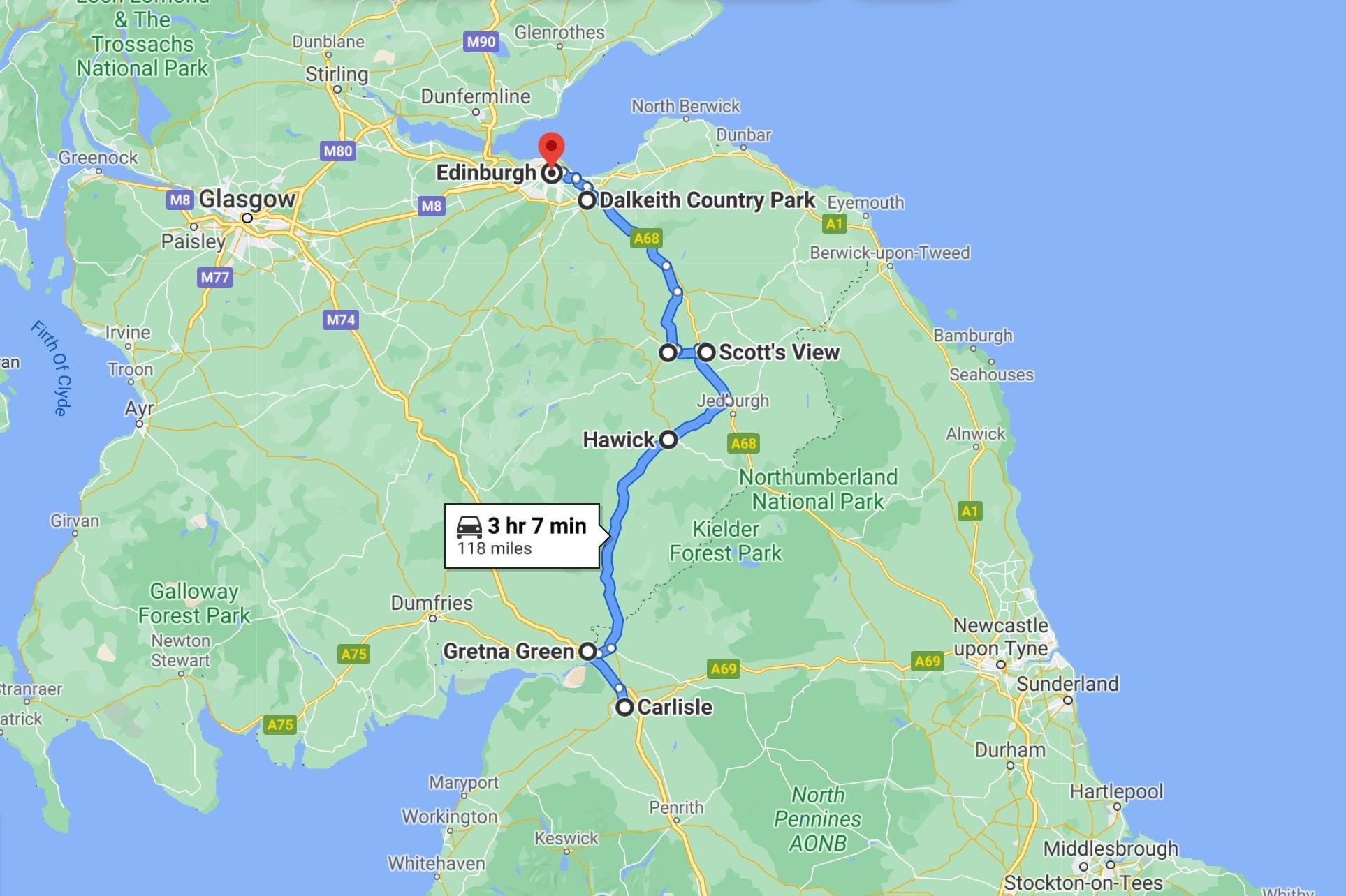 borders-historic-route-google-maps