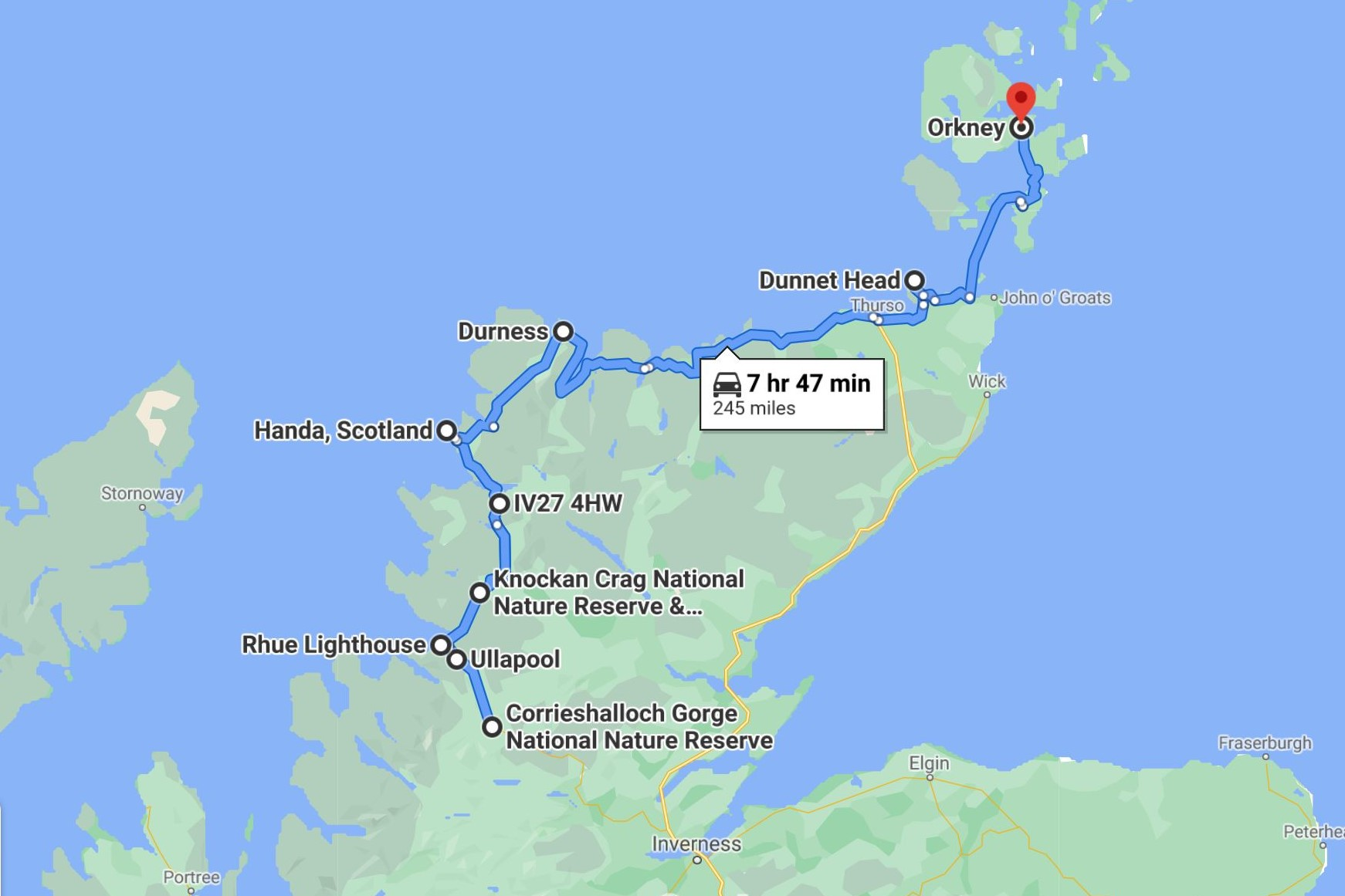 north-and-west-highland-route-google-maps