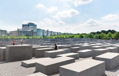 people-walking-around-concrete-slabs-in-outdoor-museum-memorial-to-the-murdered-jews-free-museums-in-berlin