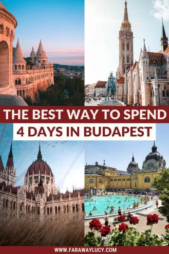 The Best Way to Spend 4 Days in Budapest [Itinerary]. There are so many great things to do in Budapest and you can pack them into just 4 days in the city! Click through to read more...