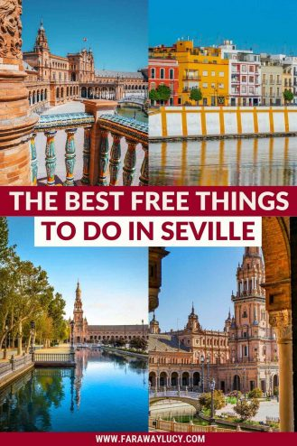 The Best Free Things to Do in Seville That You Can't Miss. From sightseeing to festivals, there are so many great free things to do in Seville, Spain! Click through to read more...