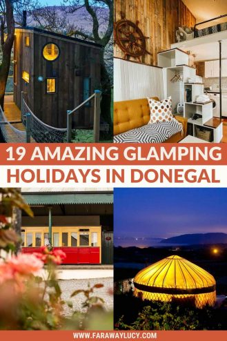 17 Amazing Glamping Holidays in Donegal You Need to Go On. Looking for quirky, unique accommodation to go glamping in Donegal? From treehouses to shepherd's huts, here are 17 amazing glamping holidas in Donegal you need to go on. Click through to read more...