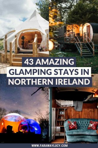 Glamping Northern Ireland: 43 Amazing Places You Need to Stay At. Looking for some amazing Northern Ireland glamping holidays to go on? Well, you've come to the right place. Click through to discover Northern Ireland's most quirky accommodation...