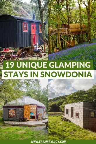 Glamping Snowdonia: 19 Unique Places You Need to Stay At. Looking for quirky, unique accommodation to go glamping in Snowdonia? From treehouses to shepherd's huts, here are 19 unique glamping holidays in Snowdonia you need to stay at. Click through to read more...