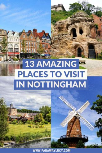 13 Amazing Places to Visit in Nottingham for a Great Day Out. There are so many fun things to do in Nottingham and this post shares some of the best of the best! Click through to read more...