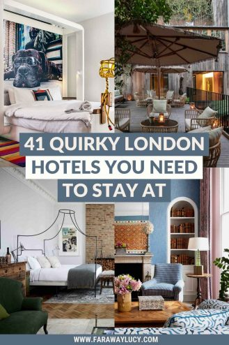41 Quirky London Hotels You Need to Stay At. These London hotels are cool, quirky and unique. Click through to read more...
