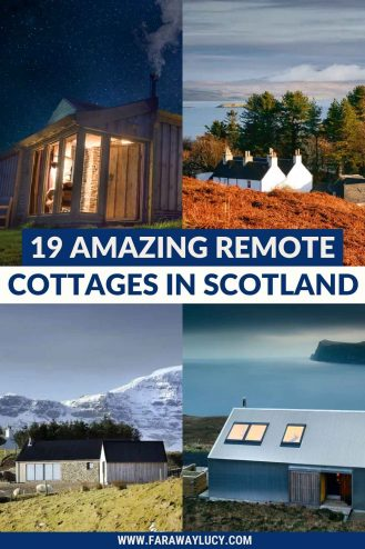 19 Amazing Remote Cottages in Scotland You Need to Stay In. From the Isle of Skye to the Scottish Highlands, this article shares some of the most beautiful cottages in the most remote pockets of Scotland. Click through to read more...