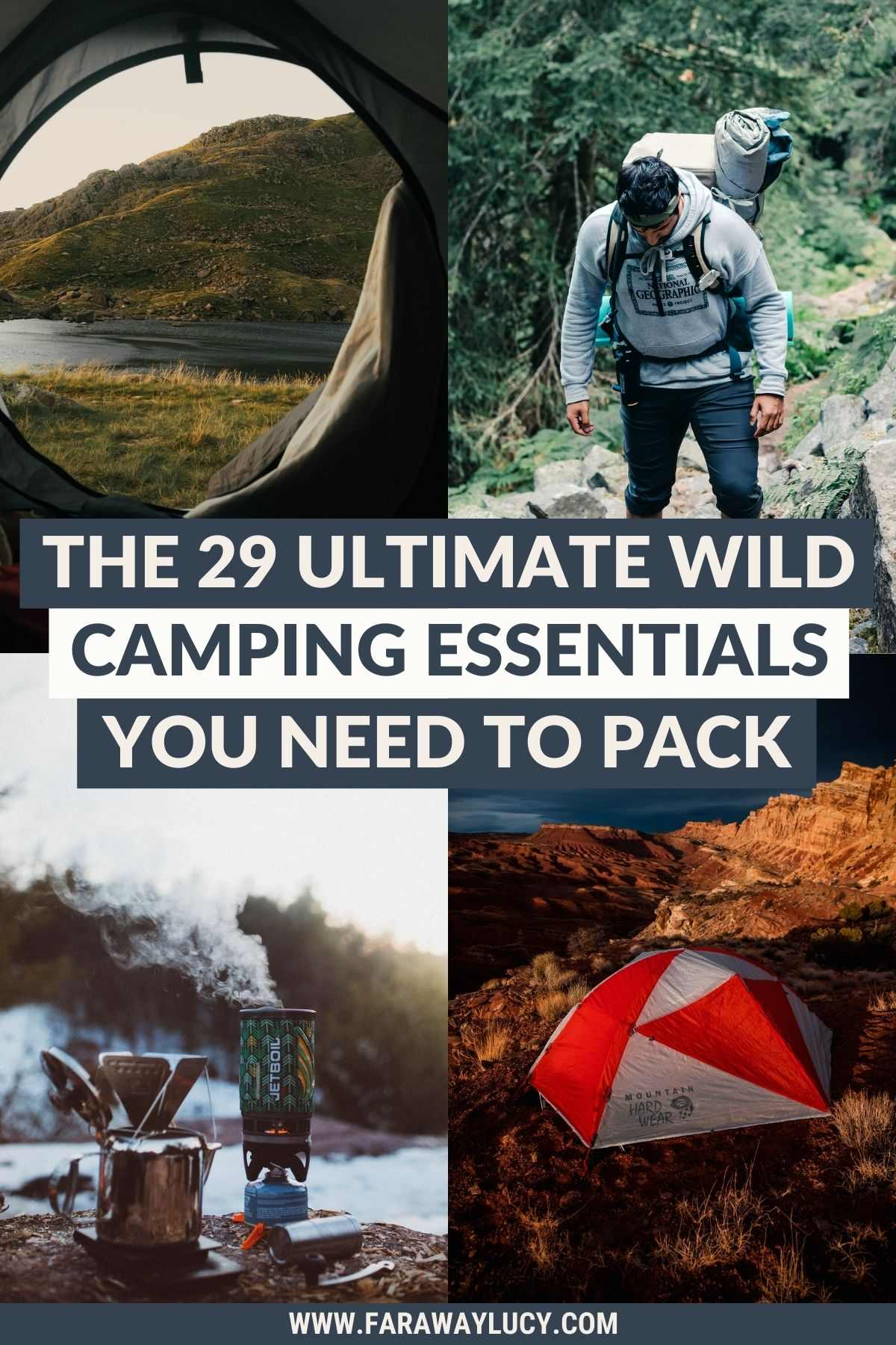 The 29 Ultimate Wild Camping Essentials You Need to Pack