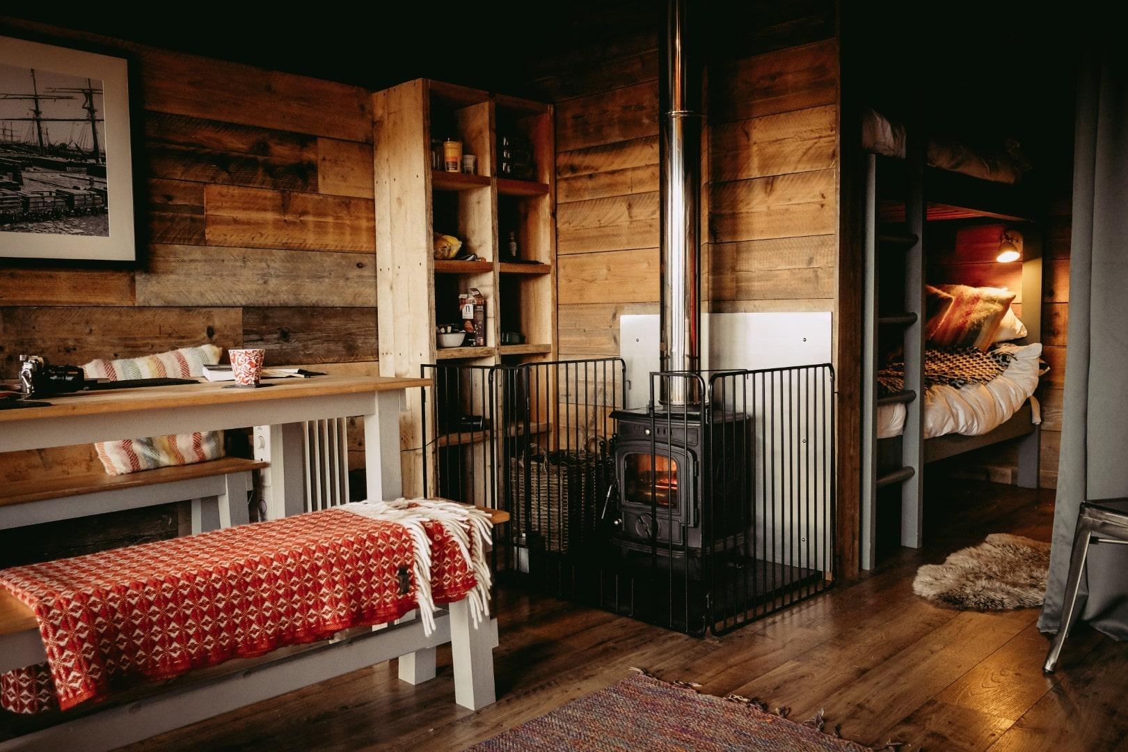 cosy-cabin-with-log-burner-at-llechwedd-glamping-safari-tents-glamping-snowdonia