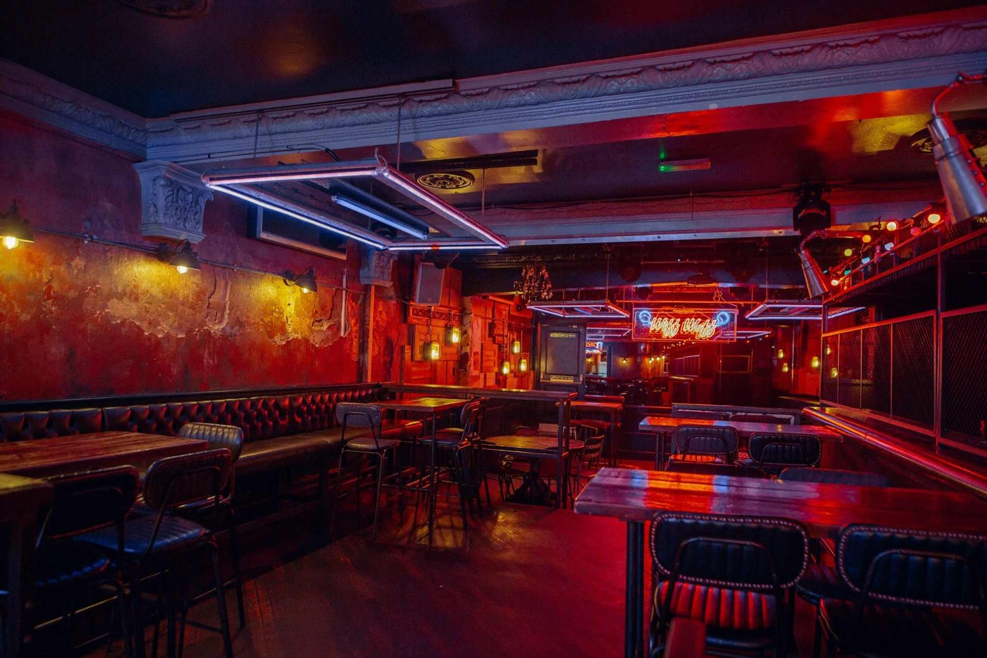 industrial-das-kino-bar-and-restaurant-lit-up-in-neon-lights