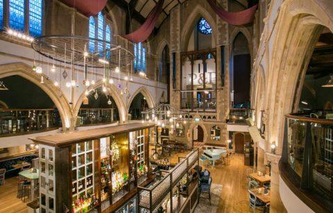 pitcher-and-piano-bar-inside-church-bottomless-brunch-nottingham