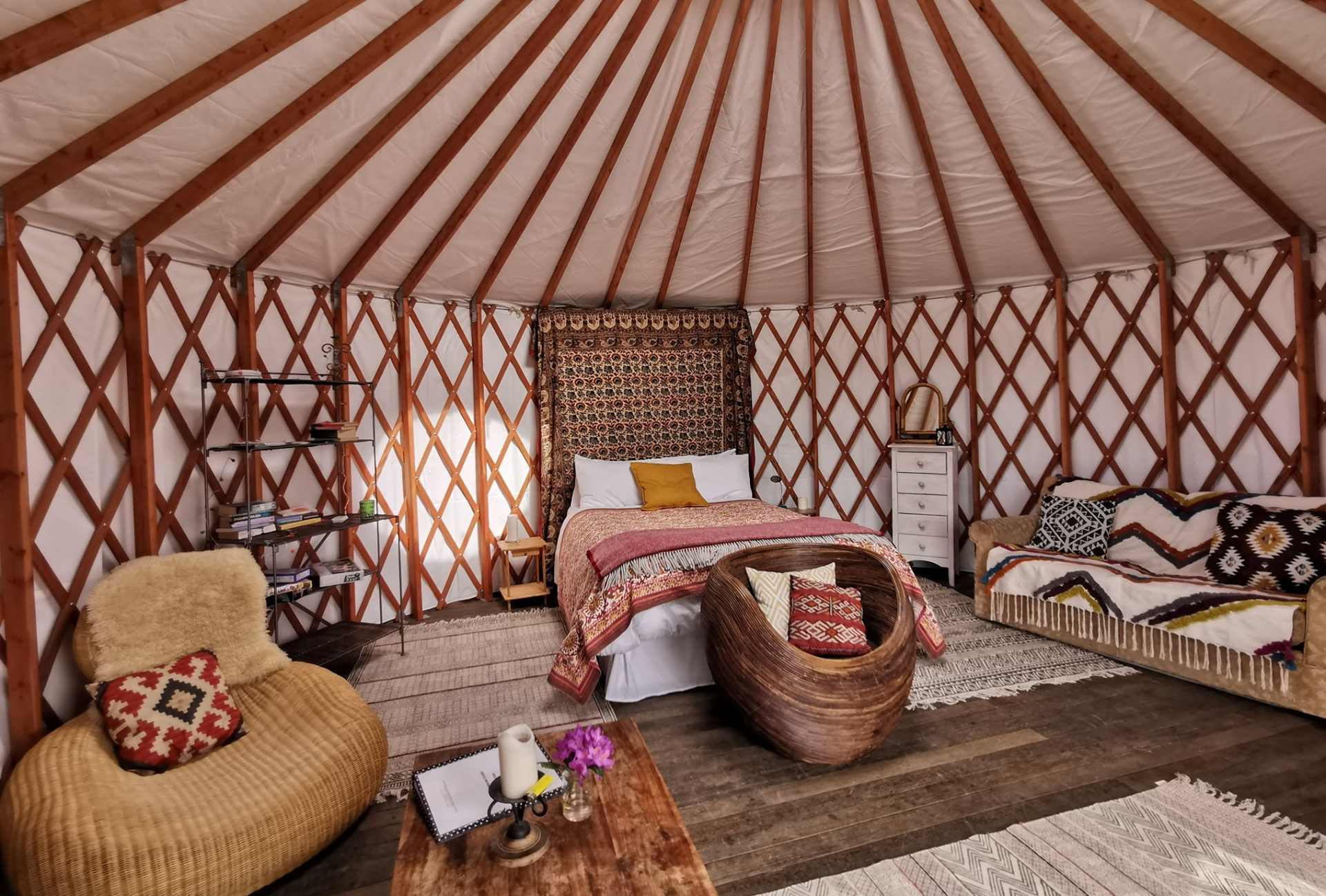 skydome-yurt-at-lough-mardal-lodge-and-yurts-glamping-donegal