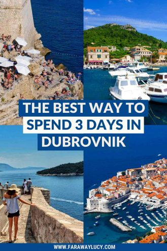 3 Days in Dubrovnik Itinerary: The Best Way to See Dubrovnik. From historic sights and beautiful islands to the best places to eat and drink, this 3 day Dubrovnik itinerary will show you the best way to see the city! Click throug to read more...