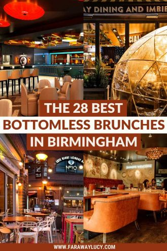 Bottomless Brunch Birmingham: 28 Best Brunches You Need to Try. From rooftop brunch to brunch in an igloo, you absolutely need to try these 28 best bottomless brunches in Birmingham. Click through to read more...