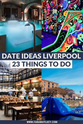 Date Ideas Liverpool: 23 Romantic Things to Do in Liverpool. From spa days and street food markets to crazy golf and cocktail making, you need to try these 23 romantic date ideas in Liverpool! Click through to read more...