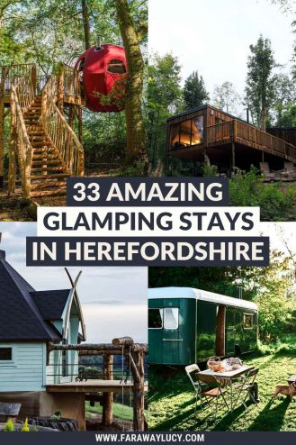 Glamping Herefordshire: 33 Amazing Places You Need to Stay At. From treehouses and shepherds huts to safari tents and yurts, you'll love these Herefordshire glamping holidays. Click through to read more...