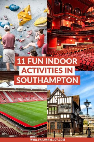11 Fun Indoor Activities in Southampton You Need to Try. From go karting and escape rooms to theatres and quirky pubs, you'll love these indoor activities in Southampton. Click through to read more...
