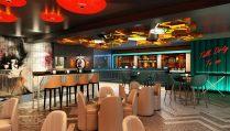 colourful-retro-dirty-martini-restaurant-and-bar-bottomless-brunch-birmingham
