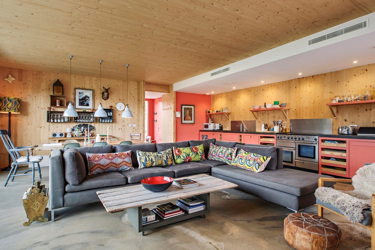 modern-vibrant-open-plan-living-and-kitchen-area-of-the-cabin-at-bliss-blakeney