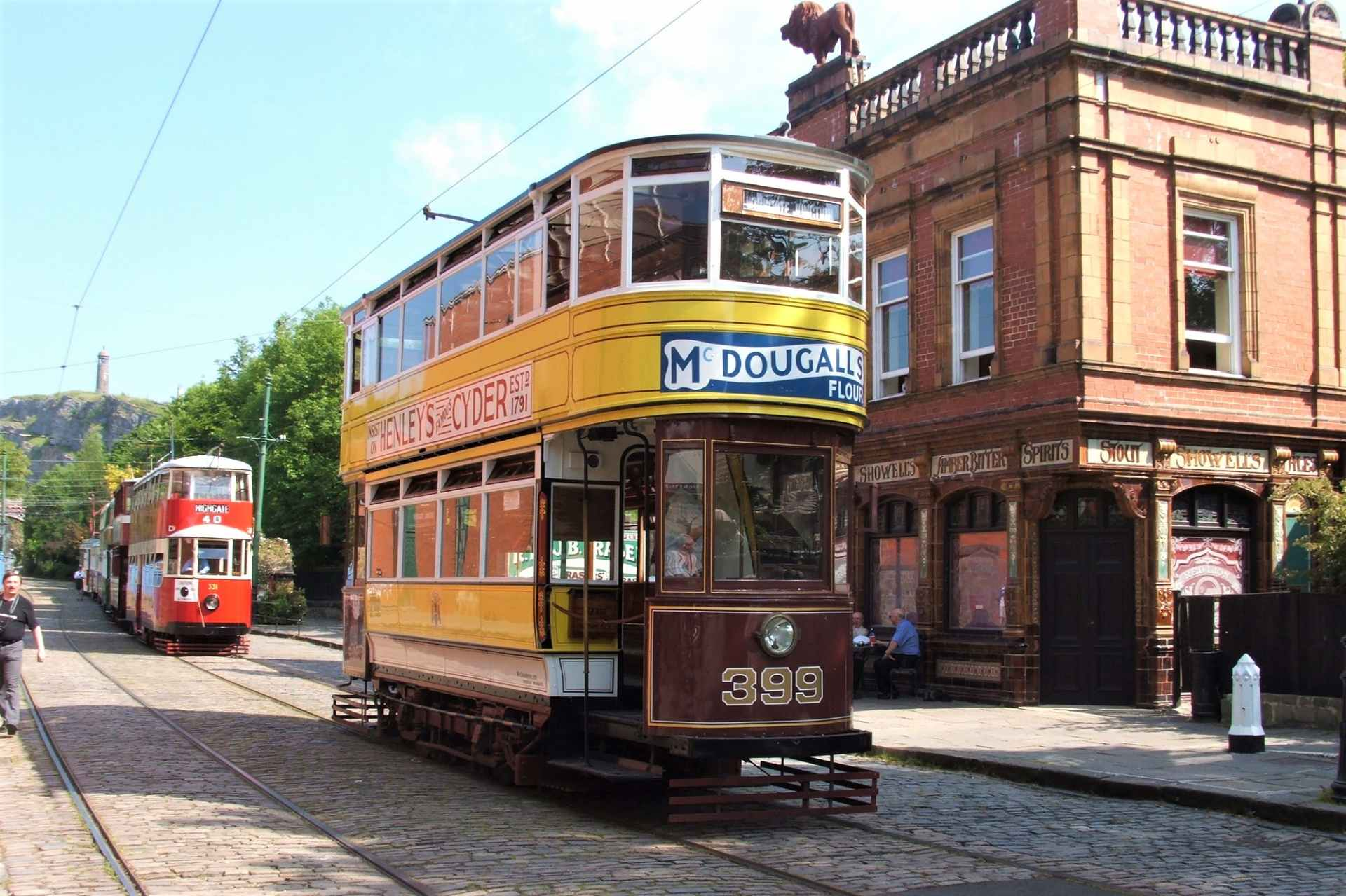 old-vintage-tram-outside-at-crich-tramway-village-museum